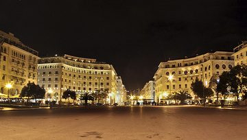 vita notturna a Salonicco